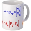 rocket equation coffee mug for rocket scientists